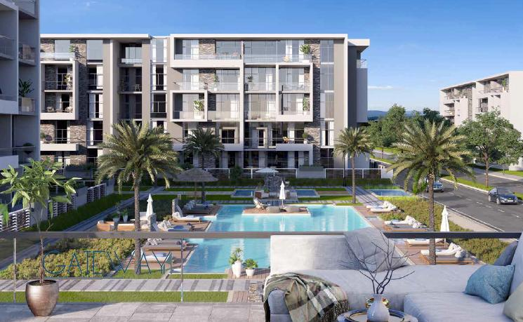 Ground Floors, Typical Apartments, Penthouses in El Patio Oro Compound - New Cairo