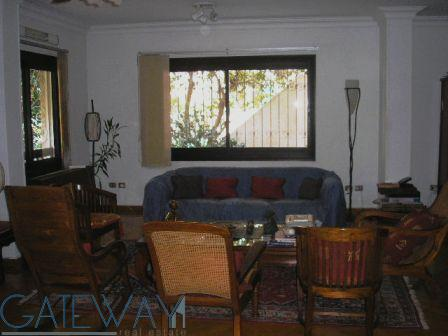 (Ref:2154) Furnished Ground Floor for Rent in Maadi Sarayat