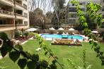 Unfurnished Apartment for Rent in Maadi Royal Gardens overlooking Shared Swimming Pool & Garden.