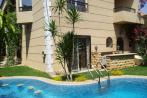 Fully Furnished Twinhouse for Rent in Mina Garden City  with Greens & Swimming Pool View.