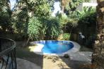 Semi Furnished Villa for Rent in Maadi Degla with Private Garden & Swimming Pool