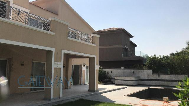 Semi-Furnished Villa for Rent in Swan Lake Compound - New Cairo