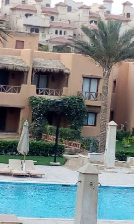 Furnished Chalet For Rent in Mountain View Sokhna