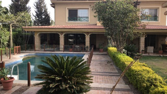 Furnished Duplex for Rent in Katameya Heights Compound