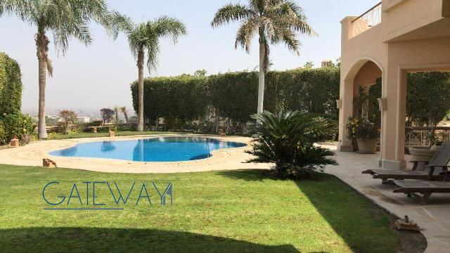 Semi-Furnished Villa for Rent in City View Compound - Cairo Alexandria Road
