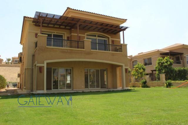 Unfurnished Villa for Rent in Stone Park Compound - New Cairo
