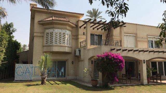 Furnished Villa for Rent in Garana Compound - Cairo Alexanderia Road