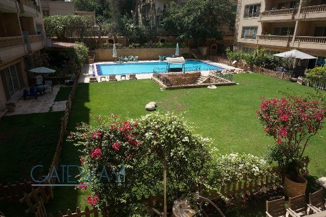Fully Furnished Apartment for Rent in Maadi Royal Gardens 1