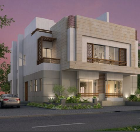 Semi-Finished Twin house for Sale in Atrio Compound