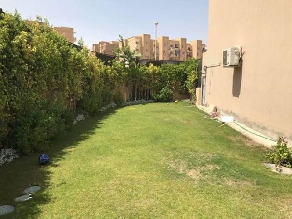 Semi-Furnished Corner townhouse For Sale In El Karma Residence Compound