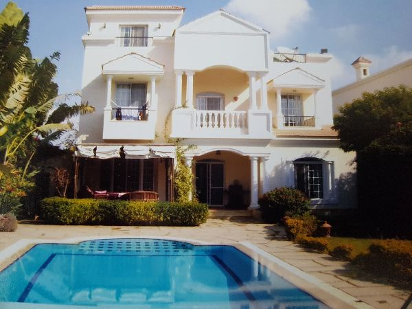 Furnished Villa For Rent in El Rawda Compound