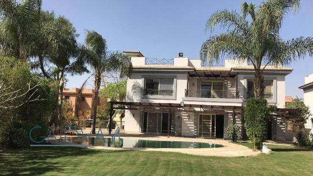 (Ref:2712) Semi-Furnished Villa for Rent in Katameya Heights Compound