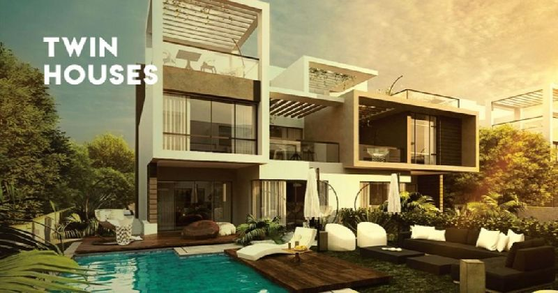 Semi Finished TwinHouse For Sale ,Fifth Square ,New Cairo