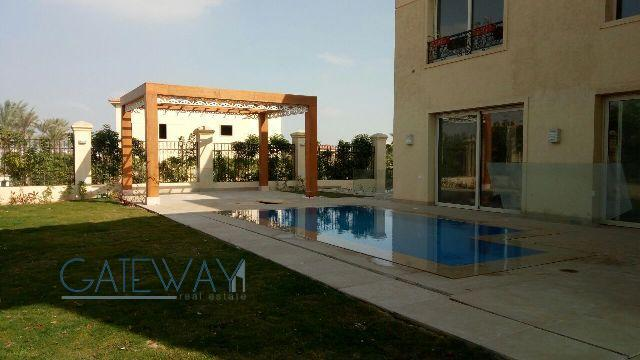 Furnished Villa for Rent in El Gezira 3 Compound - October