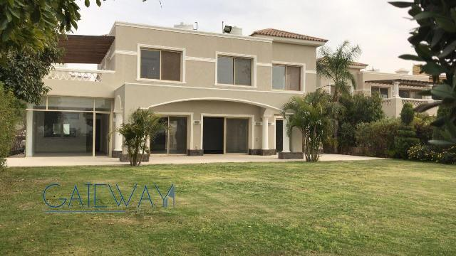 Semi-Furnished Villa for Rent in Palm Hills Compound - October