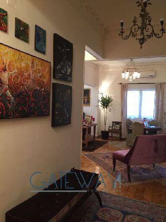 Furnished Ground Floor For Rent / Sale in Zamalek