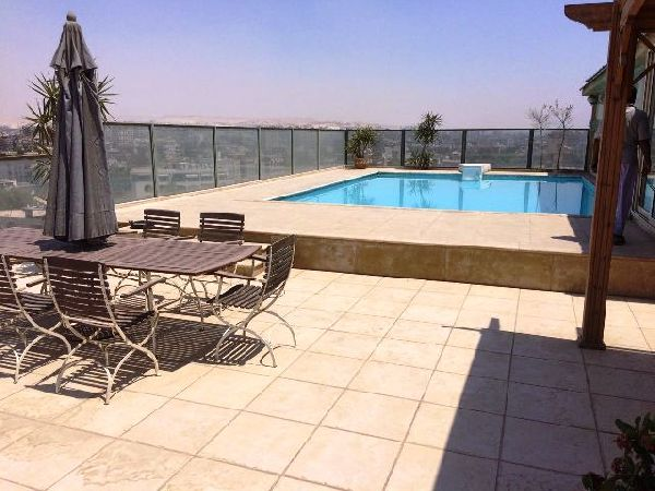 Semi-Furnished Penthouse for Rent in Maadi