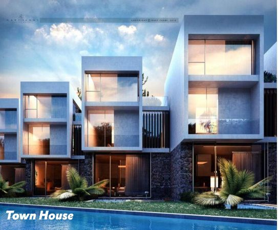 Fully Finished Town house 252m For Sale , The Waterway ,North Coast
