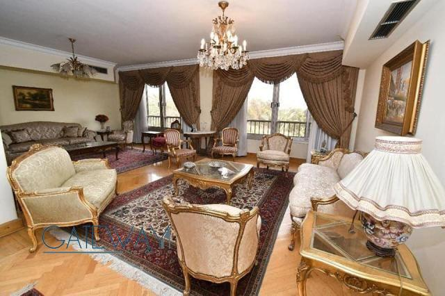 Semi-Furnished Apartment for Sale in Zamalek