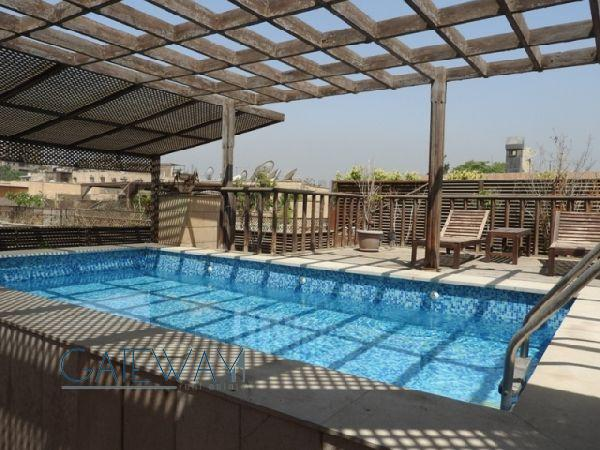 Furnished Penthouse for Rent in Maadi Royal Gardens 1