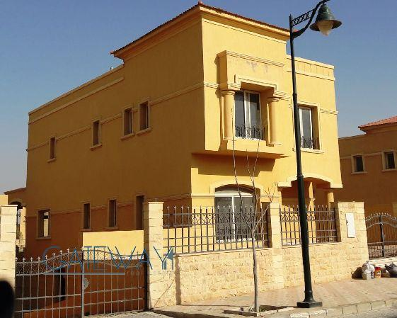 Semi-Finished Villa for Sale in Royal Medous Compound with Private Garden