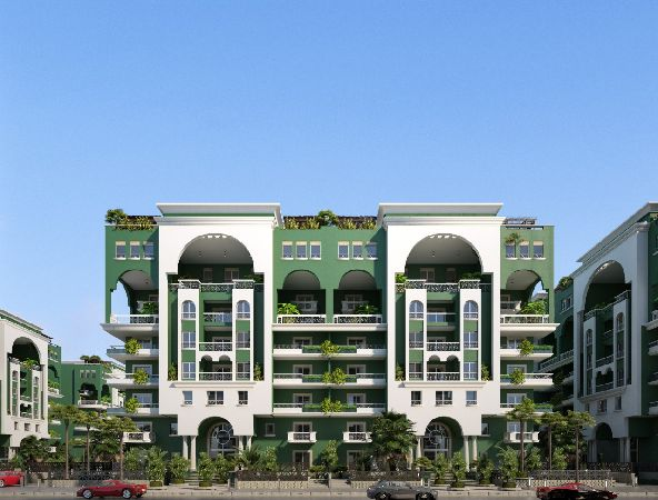Semi-Finished Apartment 165 Ground floor + Garden 65 For Sale ,La Verde