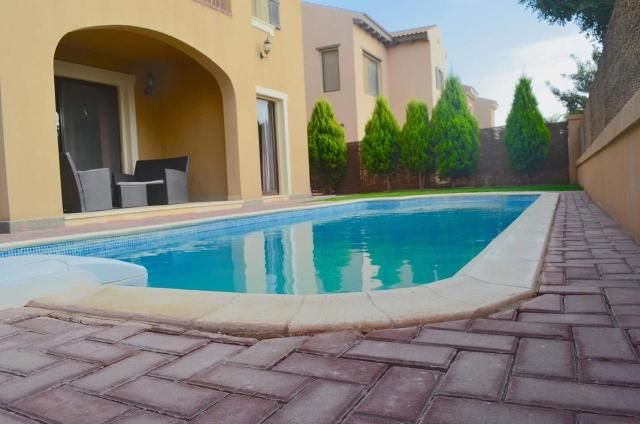Furnished Villa for Rent in Mivida Compound