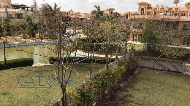 Semi-Furnished Villa for Rent in River Walk Compound - New Cairo