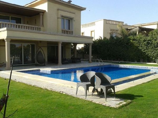 Fully Furnished Villa For Rent in The Villa Compound - New Cairo