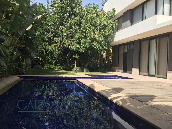 Semi-Furnished Villa for Rent / Sale in Swan Lake Compound - New Cairo