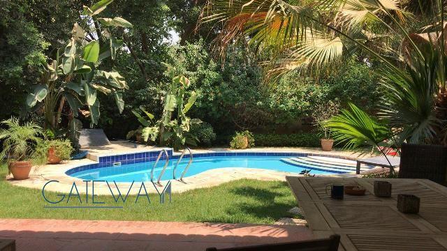 Semi-Furnished Villa for Rent in Maadi Degla