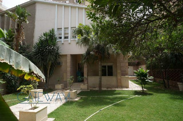 Unfurnished Villa for Rent in Maadi Degla with Private Garden & Swimming Pool
