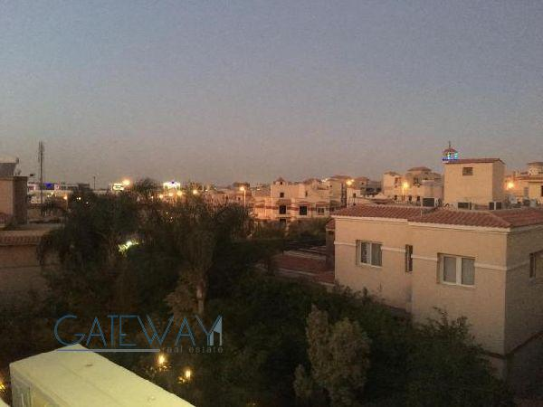 Semi-Furnished Penthouse for Rent in El Gezira Compound - New Cairo