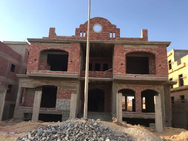 Unfinished Villa for Sale in New Cairo