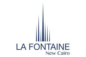La Fontaine, New Cairo Apartment 186m2, For Sale with Installment