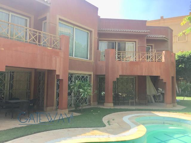 Semi-Furnished Villa for Sale in Gharb Somid