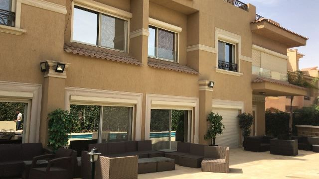 Furnished Villa for Rent in Le Rois Compound - New Cairo
