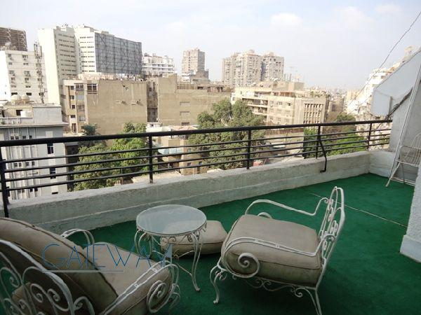 Duplex for Rent in Zamalek - Fully Furnished