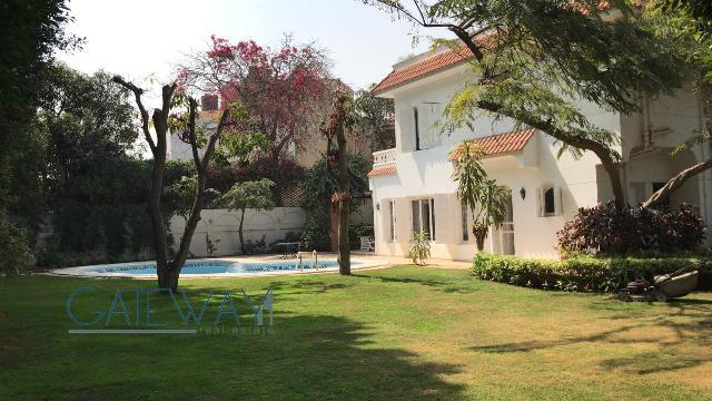 Furnished Villa for Rent in Garana Compound - Cairo Alex Road