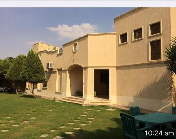 Semi-Furnished Villa for Rent in El Showifat with Private Garden